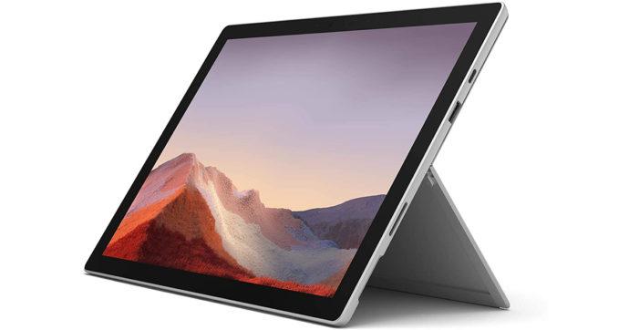 Microsoft Surface Pro 7, tablet per la produttività con sconto di 308 euro su Amazon