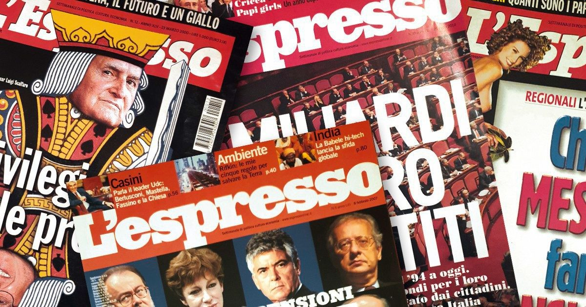 """Giravolta """"Espresso"""": con la Casta contro la riduzione dei seggi"""