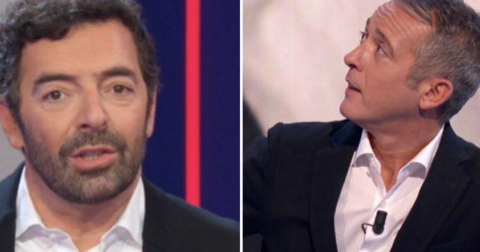"""Alberto Matano e Pierluigi Diaco, """"finimondo fuori dalla Rai con urla e paroloni"""""""