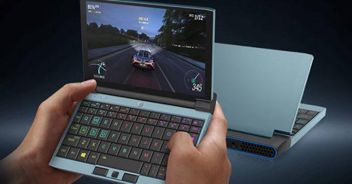 One Netbook OneGX1, il gaming notebook che sta nel palmo di una mano