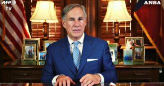 """Coronavirus, il governatore del Texas: """"Rendo obbligatoria la maschera. Il virus non sta scomparendo, anzi sta peggiorando"""
