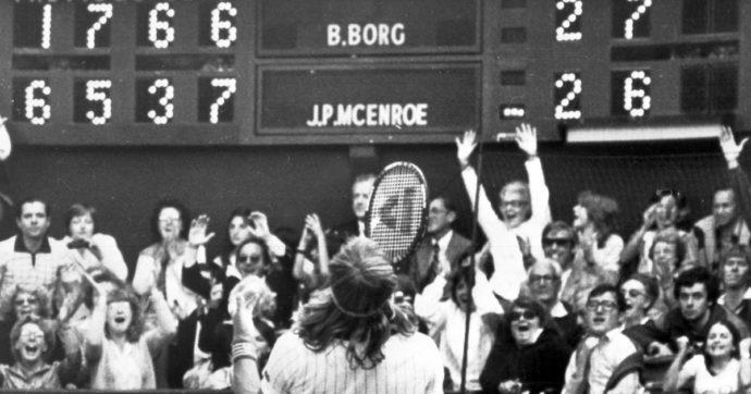"""L'apice della rivalità tra Borg e McEnroe: 40 anni fa il """"tie-break del secolo"""" a Wimbledon"""