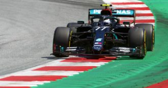 Formula 1, le qualifiche: Bottas in pole davanti a Hamilton. Dominio Mercedes, disastro Ferrari: Leclerc settimo, Vettel undicesimo