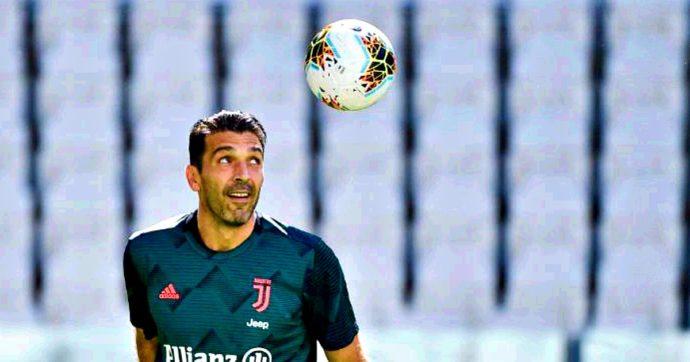 Juventus-Torino, per Buffon record di presenze in A: sono 648. Superato Maldini
