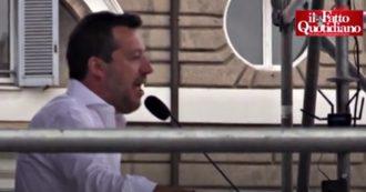 """Centrodestra in piazza a Roma, decine di posti rimangono vuoti. E dopo il caos del 2 giugno Salvini invita a sedersi: """"Evitiamo polemiche"""""""
