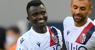 Chi è il 18enne che ha affossato l'Inter: Musa Juwara, il gambiano del Bologna arrivato in Italia su un barcone solo 4 anni fa