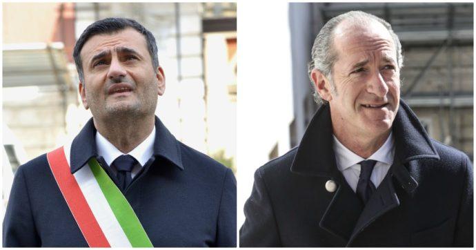 Luca Zaia e Antonio Decaro sono il presidente di Regione e il sindaco più popolari d'Italia secondo un'indagine del Sole 24 Ore