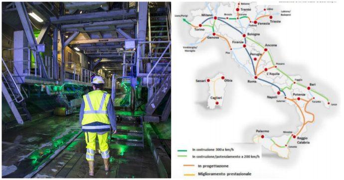 Dalla Gronda di Genova al Tav fino alle nuove tratte siciliane. Via libera a 130 opere da 200 miliardi di euro: ecco tutti i cantieri prioritari