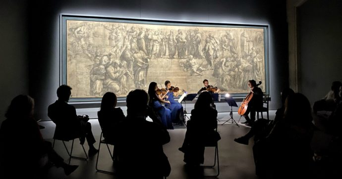 Milano, quartetti d'archi e Raffaello: quattro concerti (quasi) privati di fronte ai capolavori della Pinacoteca Ambrosiana