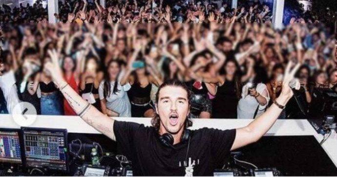 Folla in discoteca per la serata con Andrea Damante dj: lui pubblica le foto sui social e il locale è costretto a chiudere