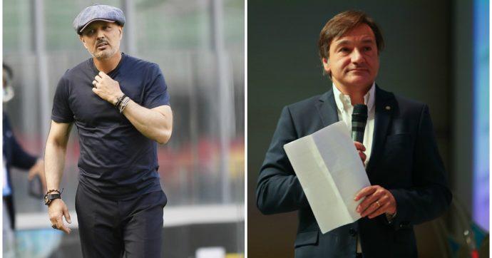 """Fabio Caressa replica a Sinisa Mihajlovic: """"Ringraziando il cielo che sono il marito di Benedetta Parodi"""""""