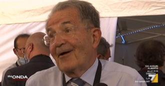 """Mes, Romano Prodi su La7: """"Ingresso di Forza Italia in maggioranza? Nessun tabù"""". E su Berlusconi: """"La vecchiaia porta saggezza"""""""