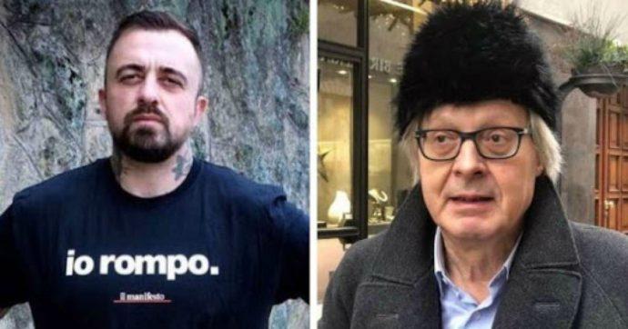 "Chef Rubio contro Vittorio Sgarbi: ""Manco oggi hai sco***o eh?"""