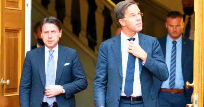 """Ue, Conte dopo la cena con Rutte: """"Non c'è piena convergenza, c'è confronto"""". La battaglia sul Recovery Fund si sposta sulle riforme"""