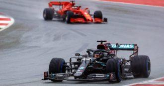 F1, qualifiche in Austria: pole bagnata di Hamilton, poi Verstappen. La Ferrari affonda