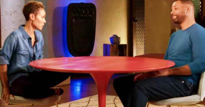 Will Smith, la moglie Jada Pinkett gli confessa in diretta il tradimento con un rapper 21 anni più giovane