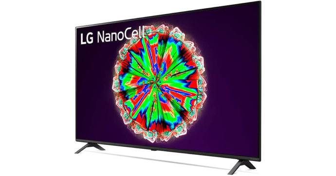 LG TV NanoCell AI 65NANO806NA, Smart TV 65 pollici 4K in offerta su Amazon con sconto di 100 euro