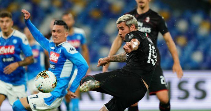 Napoli-Milan, la partita al San Paolo è stata una trasferta tutto sommato proficua