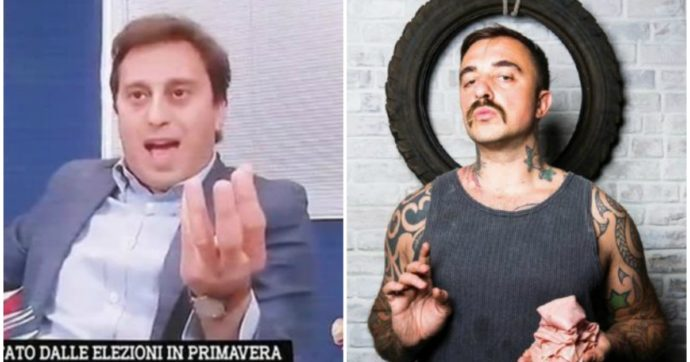 """David Parenzo contro Chef Rubio: """"Pericoloso, per tutti un pirla"""". """"Disagiato, vergognati"""""""
