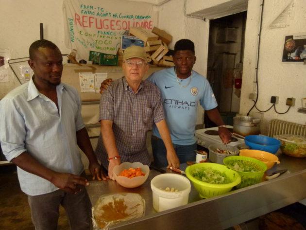Migranti, una rapida visita al 'Refuge Solidaire' ci ha fatt