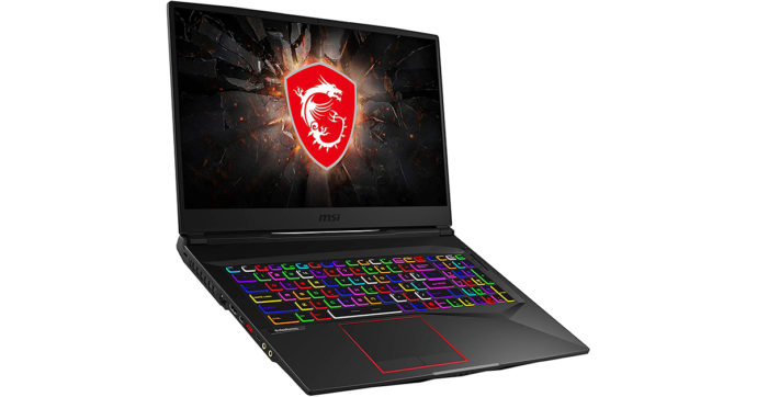 MSI GE75 Raider, gaming notebook da 17,3 pollici in offerta su Amazon con sconto di 619 euro