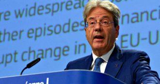 """Ue, Gentiloni: """"Da Olanda e altri Paesi politica fiscale aggressiva che rischia di danneggiare il mercato unico. Correggere distorsioni"""""""