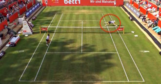 Tennis, l'altoatesino Sinner stupisce ancora: il suo tuffo contro Thiem è da applausi. Il video
