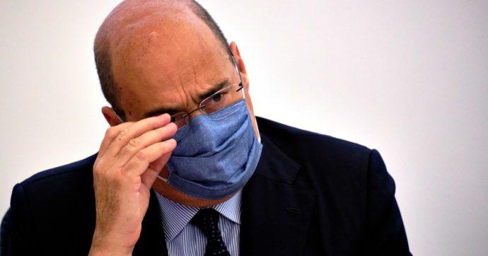 """""""Scellerato chi si toglie la mascherina per farsi pubblicità"""". Zingaretti contro Salvini e i negazionisti del virus. Il leghista replica"""