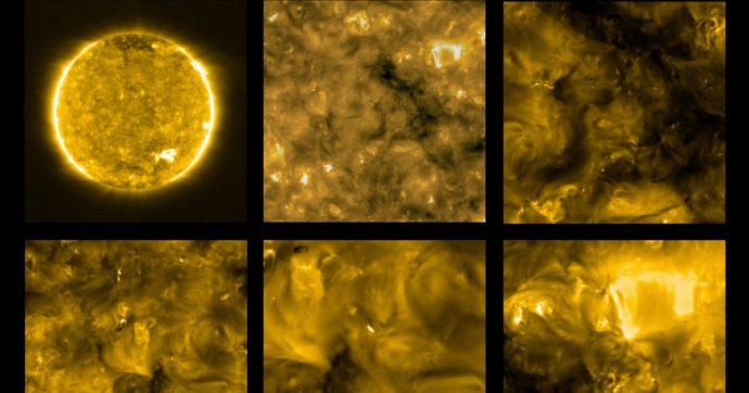Il Sole e i suoi piccoli falò, fotografati per la prima volta i bagliori di plasma della nostra stella (anche grazie all'Italia)