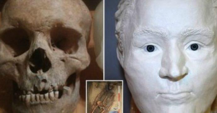 Il volto di un uomo del '500 ricostruito dal suo scheletro: grazie alla tecnologia 3D ora sappiamo com'era