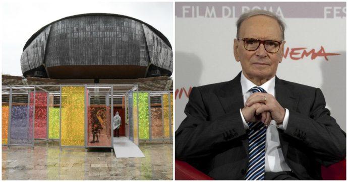"""L'Auditorium Parco della Musica di Roma sarà """"Ennio Morricone"""": ok del consiglio comunale. Raggi: """"Così la città lo ricorderà degnamente"""""""