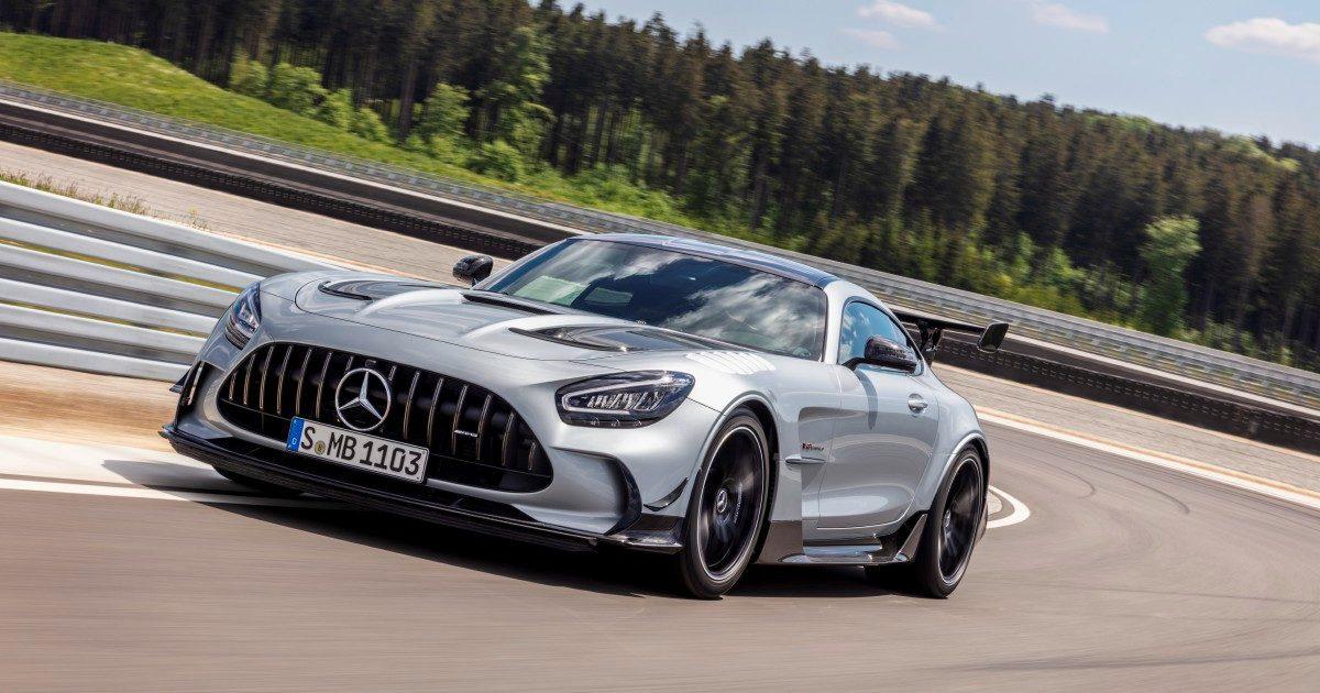 Mercedes-Amg Gt, animale da pista