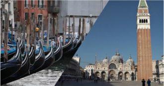 """Il silenzio di Venezia dopo il lockdown: strade deserte e negozi chiusi. """"Città in ginocchio. Emersa fragilità di un'economia solo turistica"""""""