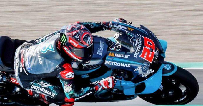 MotoGp Spagna, Quartararo in pole position nella prima prova della stagione. Solo 11° Rossi