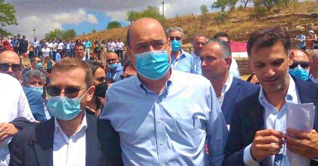 Zingaretti: 'Conte in Ue ci rappresenta al meglio. Alleanza di governo attaccata da chi teme l'unità. Ponte sullo stretto? Decidono i siciliani'