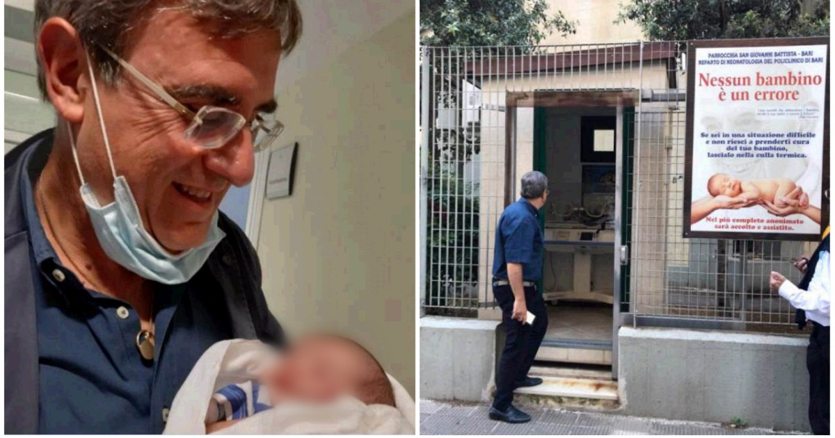 Bari, trovato neonato nella culla termica di una chiesa. Accanto a lui un biglietto dei genitori thumbnail