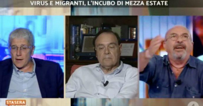 """Vauro contro Mario Giordano: """"Non parlo se il chihuahua mi interrompe"""""""