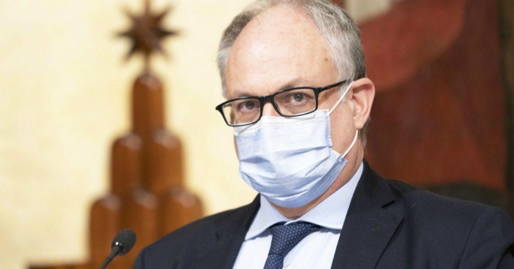 """Gualtieri: """"Per la sanità nel Recovery plan 16 miliardi totali. Lettera di Mersch sul cashback? Lui sosteneva che le banconote da 500 euro non favorivano il riciclaggio"""""""
