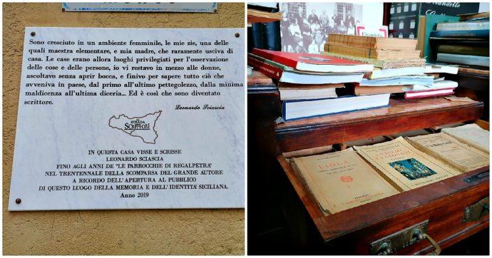 Sicilia, boom di visite per la casa-museo di Sciascia recuperata da privati: il doppio della Fondazione (pagata con fondi pubblici)