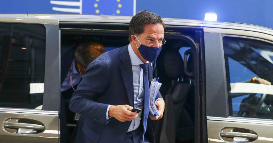 """Recovery fund, potere di veto? Non ci sarà. """"Modifica decisiva dell'Italia nel testo finale. Per Rutte un premio di consolazione per le elezioni"""""""