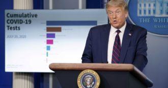 """Coronavirus Usa, altri mille morti. Trump: """"La situazione peggiorerà"""". 20mila militari infetti, in prigione del Texas 510 detenute positive"""