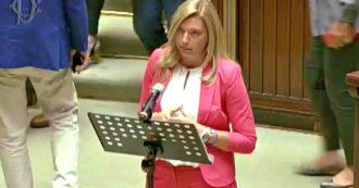 """Bonus, quando la deputata sospesa dalla Lega diceva in Parlamento: """"Abbiamo dovuto accettare l'elemosina da 600 euro"""""""
