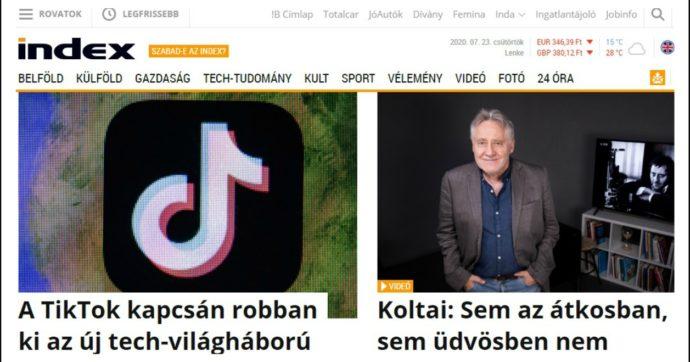 """Ungheria, licenziato direttore del principale sito di informazione. Aveva detto: """"La nostra libertà è in pericolo"""""""