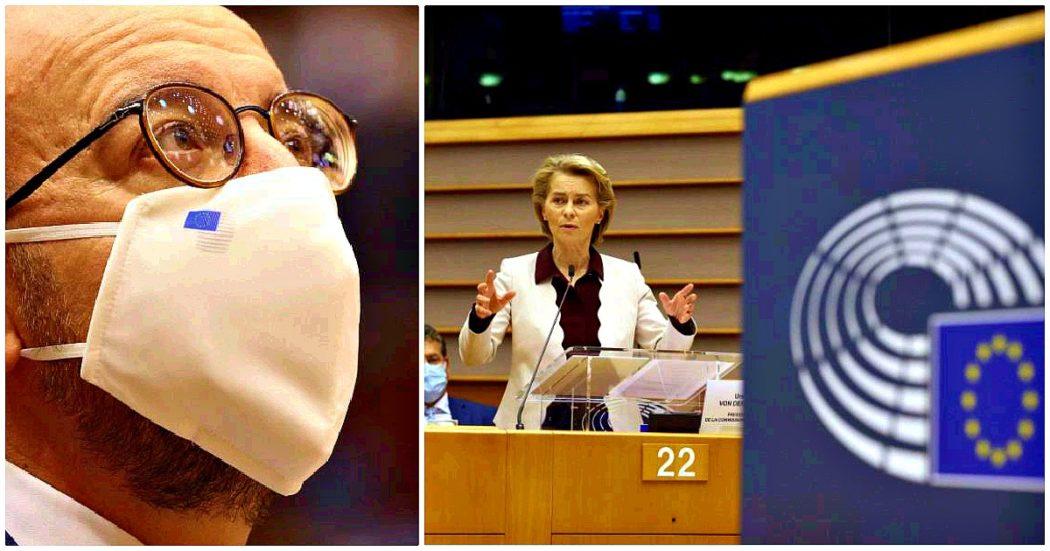 """Parlamento Ue approva risoluzione su Recovery fund: """"Mossa storica, ma inaccettabili i tagli al bilancio"""". Centrodestra si spacca: Fi a favore, Lega-Fdi si astengono. M5s: """"Per loro vengono prima i sovranisti"""""""