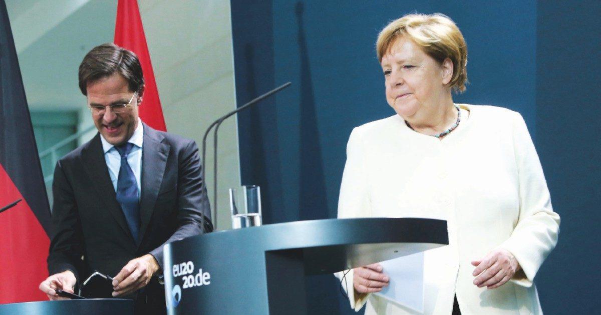 """""""La Merkel pensa all'Europa, Rutte solo agli affari suoi"""""""
