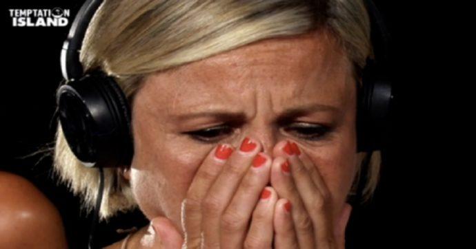 Temptation Island, Antonella Elia prende a schiaffi il fidanzato Pietro delle Piane