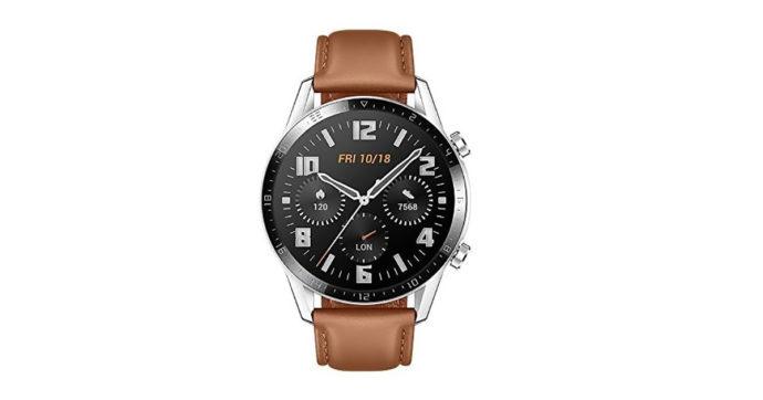 Huawei Watch GT2, smartwatch elegante e dalla grande autonomia, in offerta su Amazon con sconto del 29%