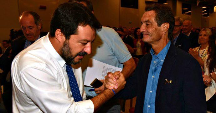 """Camici Lombardia, Salvini contro i pm riesuma la """"giustizia a orologeria"""". Di Battista: """"Cazzaro"""". Pd, Leu e M5s: """"Fontana si dimetta"""""""