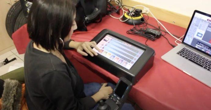 """""""Musica Senza Confini"""", grazie alla tecnologia anche i disabili più gravi possono suonare e comporre usando solo gli occhi e il respiro"""