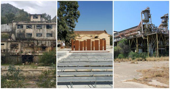 """Sicilia, la miniera diventa un teatro. Ma è vicino alla """"fabbrica fantasma"""" mai bonificata"""